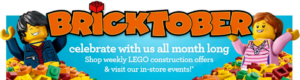 This Is Tomorrow! Bricktober Build and Play at Toys R Us!