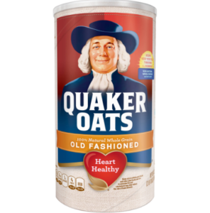 **Print NOW!** Quaker Oats Oatmeal $.93 Per Canister Starting Wednesday!