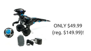 *SUPER HOT* WooWee MiPosaur Robotic Dinosaur ONLY $49.99 (reg. $149.99)!