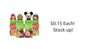 Good 2 Grow Juice ONLY $0.15 at Publix!