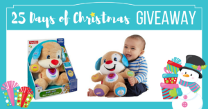 Win a Fisher Price Laugh & Learn Puppy!