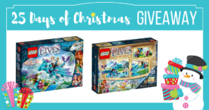 25 Days of Christmas Giveaway-Day 1 FREE Elves LEGO Set