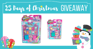 25 Days of Christmas Giveaway-Win Shopkins!!