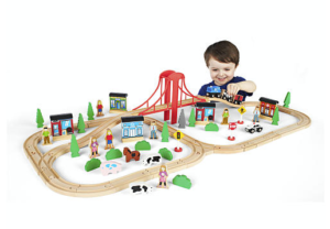 *Hot!* Imaginarium 80+ Piece Mega Train World $24.99 Shipped!
