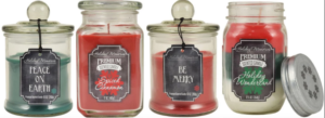 Holiday Memories Jar Candle as low as $3.39 each!!
