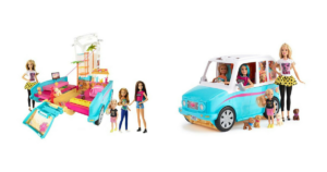 WOW! Barbie Ultimate Puppy Mobile & 4 Doll Gift Set $44.49 (reg. $139.99)!