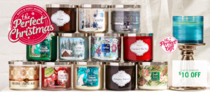 Bath & Body Works 3-Wick Candles $12.50 Each SHIPPED! Today Only!