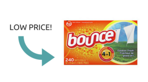 Stock Up Price on Bounce Dryer Sheets!