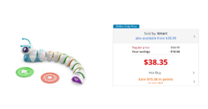 WOW!! Fisher-Price Think & Learn Code-a-Pillar $22.97 (reg. $54.99)!