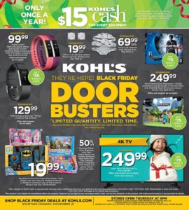 Kohl's Black Friday Ad (Starts 11/21)