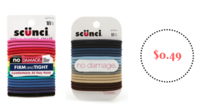 Scunci 18-Pack Elastics ONLY $0.49! Stock Up!
