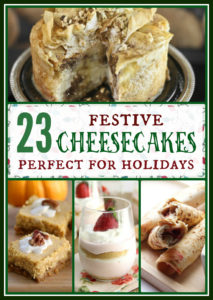 23 Festive Cheesecakes Perfect for the Holidays