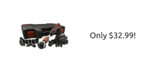 Craftsman Mach Series 53-Piece Ratchet Tool Set $32.99 (reg. $99.99) + FREE 2-Day Shipping!