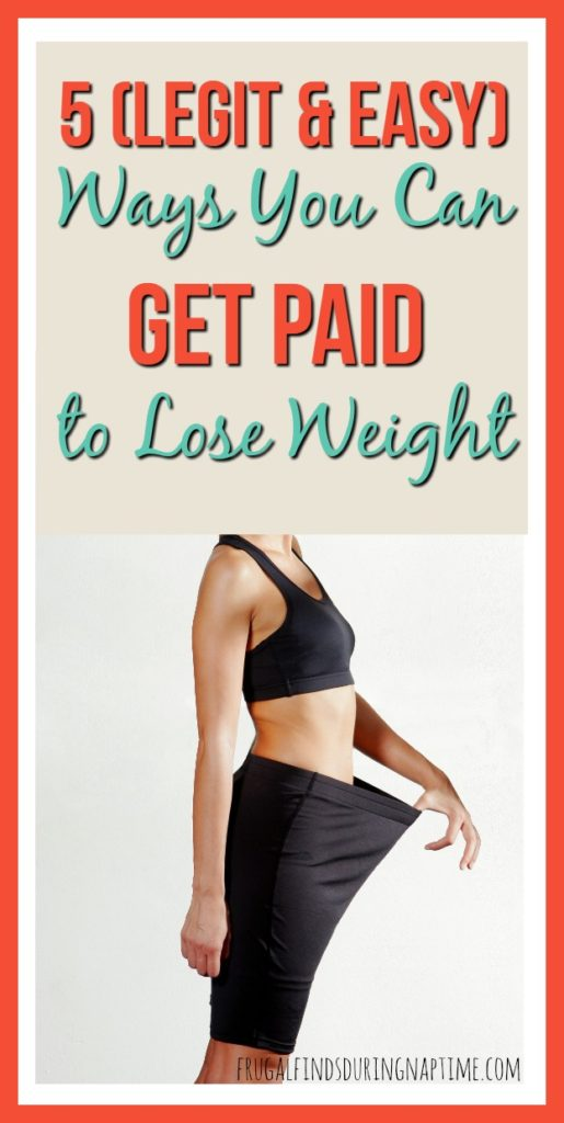 Jumpstart your fitness plan with these 5 Ways You Can Get Paid To Lose Weight! Weight loss has never been easier when you have motivation like this!