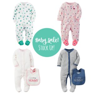 Triple Stack on Baby Clothes at Kohl's! Stock Up!
