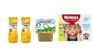 WOW! Boxed Diapers $16.48 + FREE Wipes and Gerber Snacks!