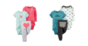 Carter's 3-Piece Baby Sets $7.13 (reg. $22.00)! Stock Up!