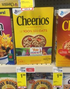 Cheerios ONLY $0.24 (reg. $4.29) at CVS! Stock Up Price!