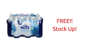 Go! Go! Go! FIVE FREE Cases of Bottled Water!!