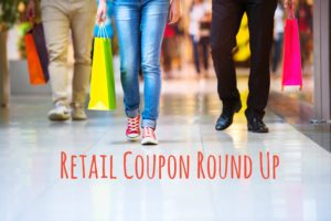 Retail Coupon Round Up