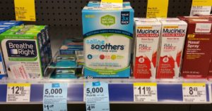 Walgreens: FREE Saline Soothers Nose Wipes