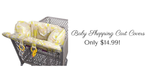 Baby Shopping Cart Cover ONLY $14.99 (reg. $39.99)!