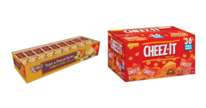 *NEW* Snack Coupon = Cheez-It's $0.19 Each & Peanut Butter Crackers $0.32 Each!