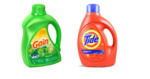 100 Ounce Bottles of Tide and Gain $7.84 (reg. $16.79)!
