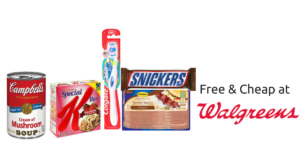 Free (& Cheap) at Walgreens January 8-14