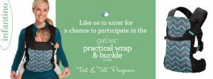 Possible FREE Infantino Gather Practical Wrap & Buckle Carrier!