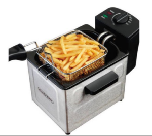 Proctor Silex 1.5 L Professional-Style Deep Fryer in Stainless Steel Only $15 (Reg. $29.99)!