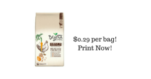 Purina Beyond Dry Dog Food ONLY $0.29 per Bag! Print Now!