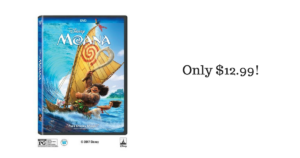 Moana DVD ONLY $12.99! Pre-Order Now!