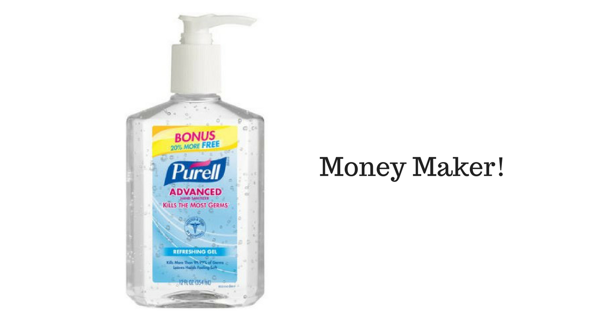 Money Maker on Purell Hand Sanitizer at Target!