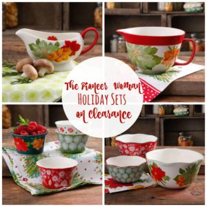 WHOA!! Pioneer Woman Holiday Sets on Clearance!