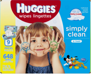 *Stock Up Price* Huggies Simply Clean Baby Wipes $0.01 Each at Target!