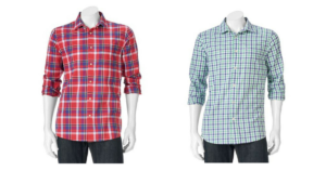 Men's SONOMA Goods for Life Button-Up Shirts $16.99 (reg. $44)!