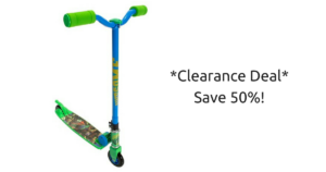 Teenage Mutant Ninja Turtle Scooter on Clearance for $17.48 (reg. $34.99)!