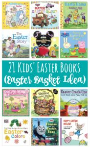 21 Kids' Easter Books (Easter Basket Idea)