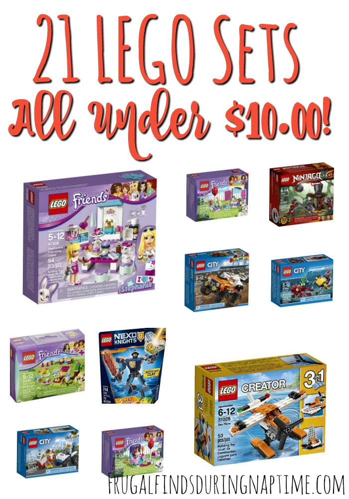 If you have a LEGO fan, be sure to check out this list of 21 LEGO Sets Under $10!