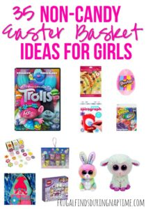 35 Non-Candy Easter Basket Ideas for Girls