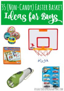 35 Easter Basket Ideas for Boys