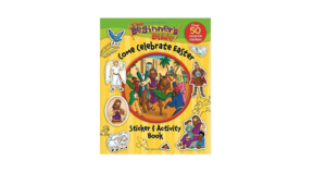 The Beginner's Bible Come Celebrate Easter Sticker & Activity Book ONLY $3.15!