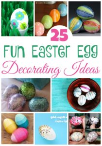 25 Fun Easter Egg Decorating Ideas