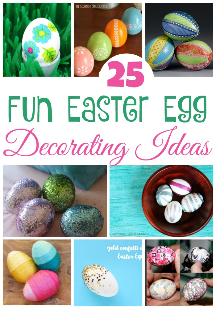 Change up your regular egg decorating tradition with one of these fun Easter egg decorating ideas!