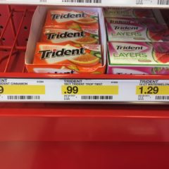 Money Maker on Trident Gum at Target!