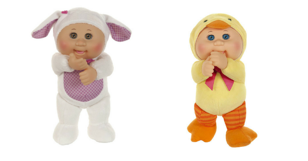 Cabbage patch cuties 999 perfect easter basket stuffer if youre looking for a non candy easter basket idea toys r us has the cabbage patch cuties for just 999 there are quite a few cute ones negle Choice Image