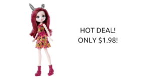 **SUPER HOT** Ever After High Doll ONLY $1.98 (reg. $11.99)!