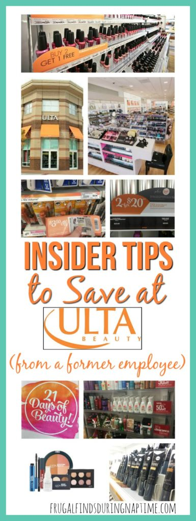Learn how to save money at Ulta from a former employee who is revealing all the tips and tricks she learned while working there!