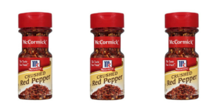 TWO Bottles of McCormick Crushed Red Pepper ONLY $0.03!